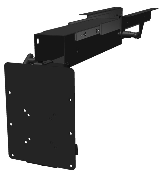 Mor ryde tv40 010h vertical t v swivel mount - Vertical sliding tv mount ...