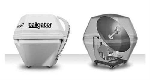 King vq2500 tailgater automatic portable satellite antenna publicscrutiny Images