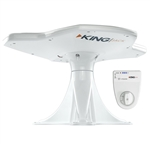 King OA8500 Jack Directional Over-The-Air Antenna With Mount & Signal Meter - White