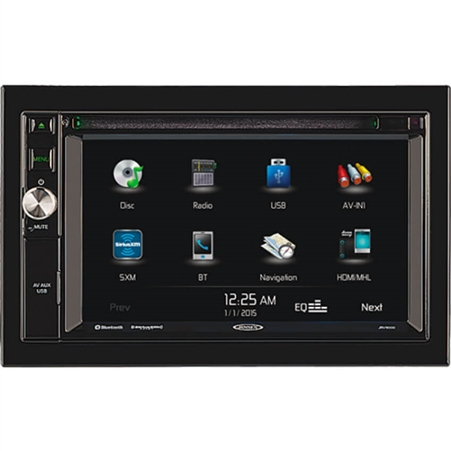 Jensen JRV9000R Touchscreen AM/FM / Navigation / Bluetooth Multimedia System - 6.2""
