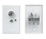 Winegard Power Receptacle Wall Plate - White