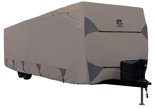 Classic Accessories 80-489-182401-RT Encompass Cover For 27-30' Travel Trailer RVs - Model 5