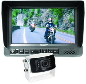 Voyager LCD Color Rear Observation System