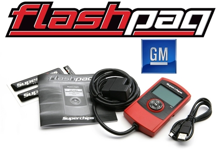 Superchips F4 Flashpaq GM Tuner