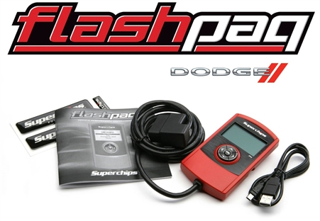 Superchips F4 Flashpaq Dodge Tuner