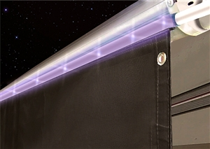 Valterra A30-0750 15' RV Awning Drape With Solar Rope Lights