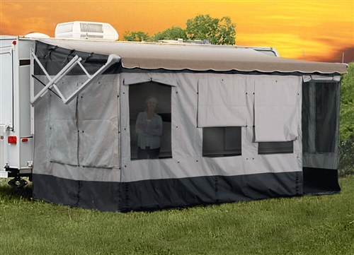 Carefree Of Colorado Awning Size 16'-17' Vacation'r Room