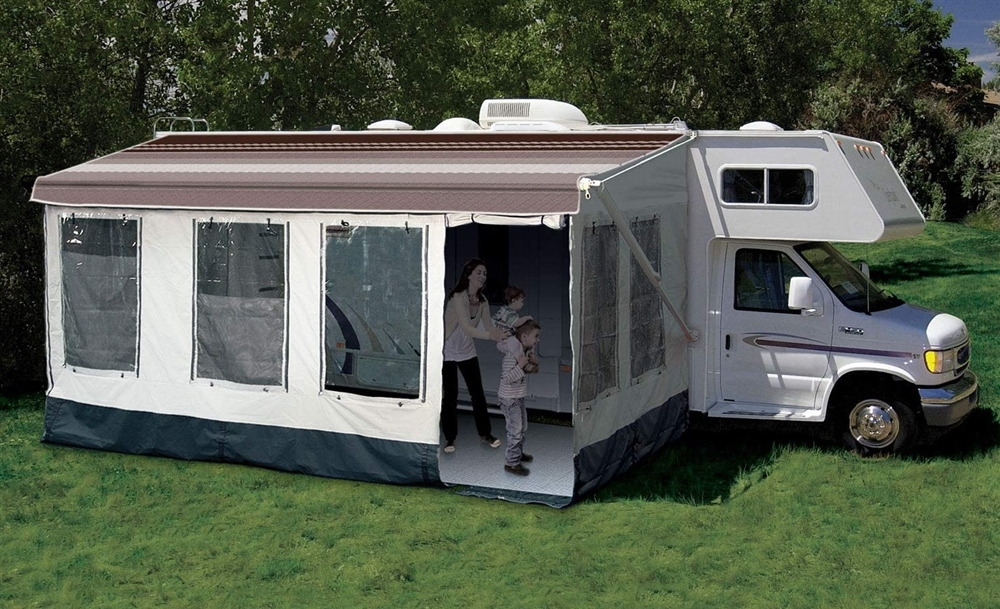 Carefree 211600a rv awning size 16 39 17 39 buena vista plus room Rv room additions