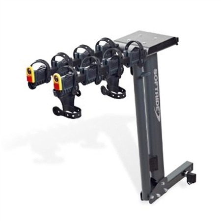 Softride 26247 Access Dura Hitch Mounted 4 Bike Rack