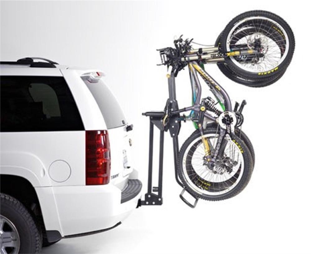 Softride 26496 Hitch Mounted Hang 5 Bike Rack