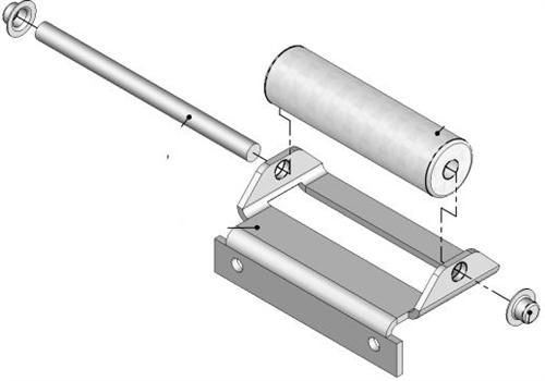 Lippert 276288 J 36 Service Roller