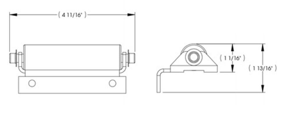 Lippert Components 115611 J-1 Roller for Various RV and Travel Trailer LCI Slide-Out Systems