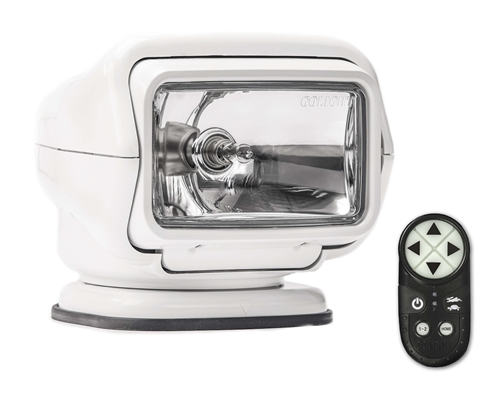Golight  Stryker Searchlight W/ Wireless Hand-Held Remote, White