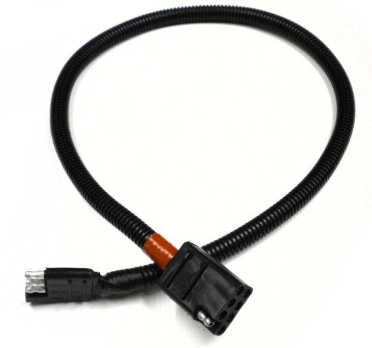 starcraft wiring harness rv pigtails 30060 4 way flat to 8 way square adapter for  rv pigtails 30060 4 way flat to 8 way