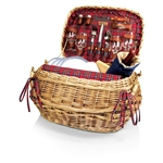 Picnic Time Highlander Picnic Basket - Red Tartan
