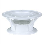 Lippert 389381 360 Siphon RV Roof Vent - White