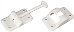 RV Designer E231 Entry Door Holder, White, 3-1/2""