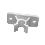 RV Designer E242 Entry Door Holder Clip - White - 3""