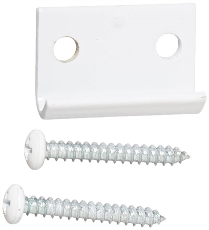 RV Designer E318 Camper Door Catch, White