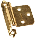 RV Designer H237 Self-Closing Brass Hinges - Brass - 2 Pack
