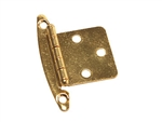 RV Designer H239 Free-Swinging Hinges - Brass - 2 Pack