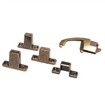 RV Designer H243 Positive Latch, Antique Finish