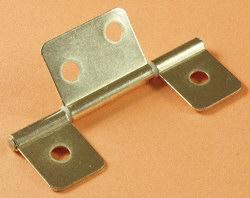 RV Designer H511 Non-Mortise Hinges- Brass