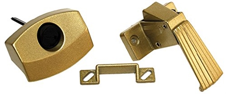 RV Designer H521 RV Designer H521 Brass Door Latch