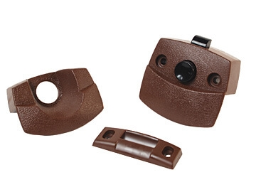 RV Designer H531 Privacy Latch For Interior RV Doors - Brown