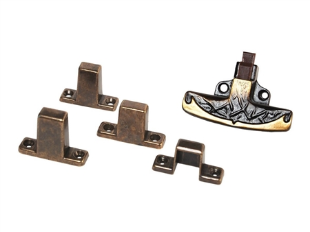 RV Designer Positive Door Latch, Multi-fit