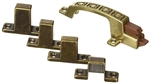 RV Designer H241 Positive Door Latch - Hieroglyphic Design - Bronze