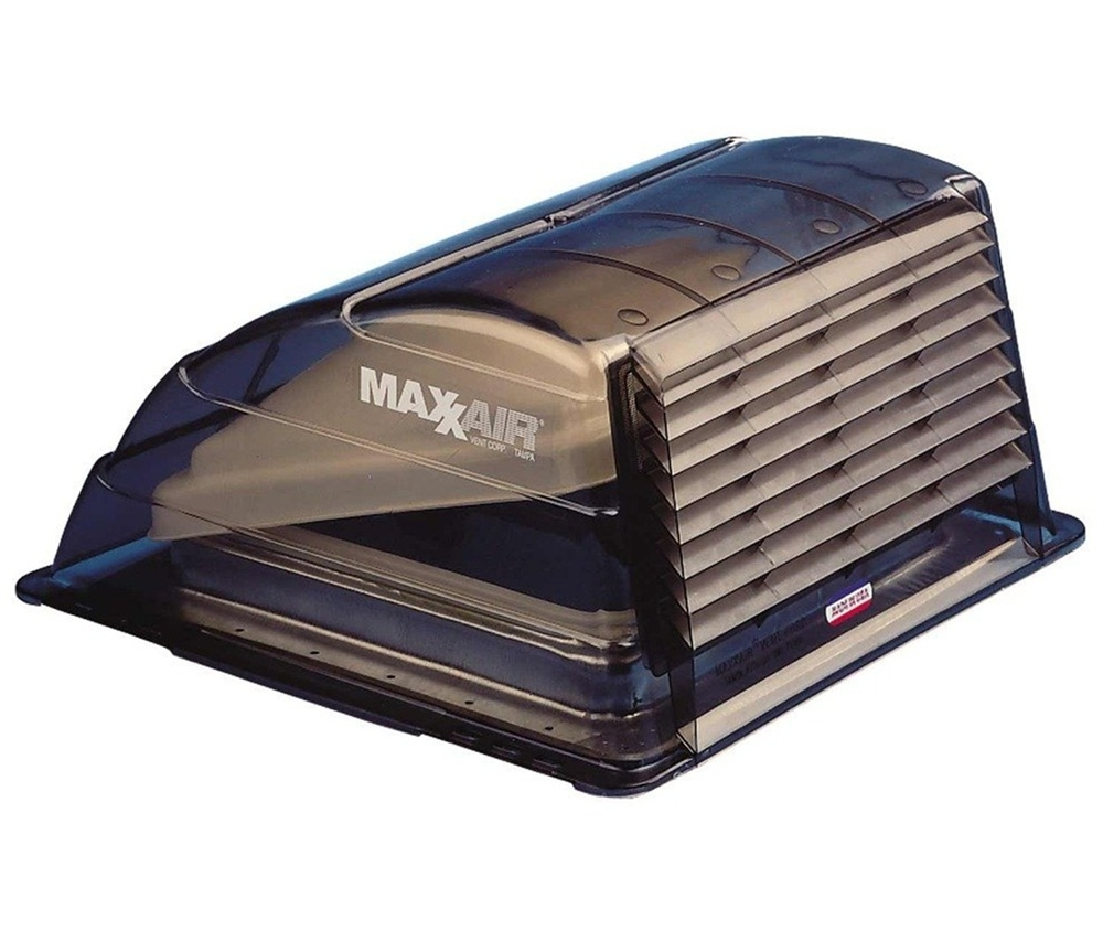 Roof Vent Covers >> Maxxair 00 933067 Rv Roof Vent Cover Smoke