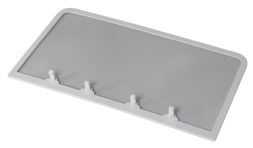 Fan-Tastic U1550WH White Bug Screen For Ultra Breeze Vent Covers