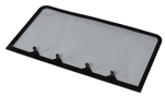 Fan-Tastic U1550BL Bug Screen For Ultra Breeze Vent Covers - Black
