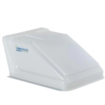 White Translucent Ultra Breeze Vent Cover