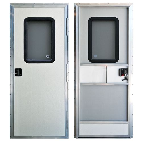 Ap Products 015 247211 Off White 24 X 72 Quot Square Rv Entry Door