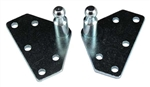 JR Products BR-10336 Gas Spring Flat Wide Mounting Brackets