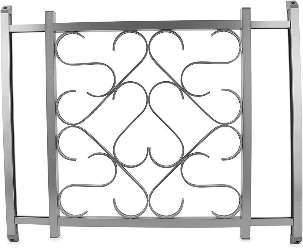 camco 43980 rv aluminum screen door standard grille 2