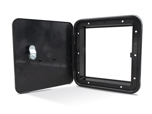 JR Products 21102-A Without Black Multi-Purpose Hatch