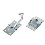 RV Designer E271 Entry Door Holder 45 Degrees, Zinc