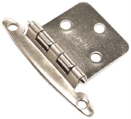 RV Designer Free Swinging Hinge, Nickel