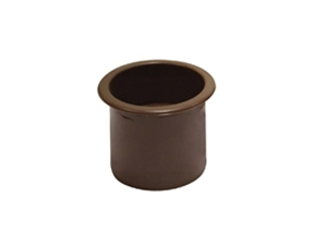"Fortis Plastics Drop In RV Cup Holder, 3"" x 3"""