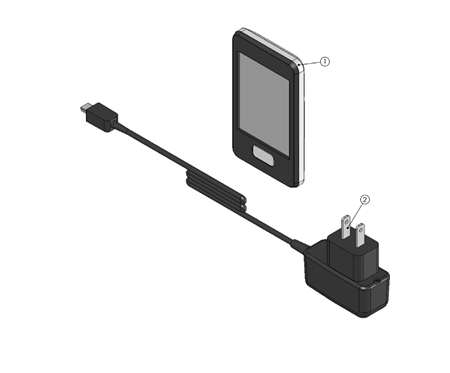 Lippert Linc Touch Screen Transmitter and Charger Kit