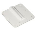 Winegard CE-2000 RV TV Dual Cable Roof Entry Plate - Gray