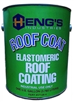 Heng's 47128-4 Elastomeric White Roof Coating - 1 Gallon
