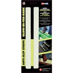 "InCom RE633GL Glow-in-the-Dark Anti-Slip Step Strips, 1""x12"""
