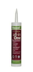 Geocel GC79000 Adhesive and Sealant, Clear, 10 oz.