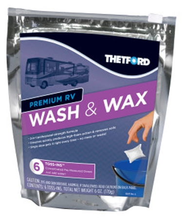 Thetford Toss In RV Wash & Wax