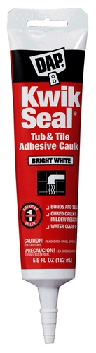 DAP 18001 Kwik-Seal Tub And Tile Caulk - White - 5.5 oz.
