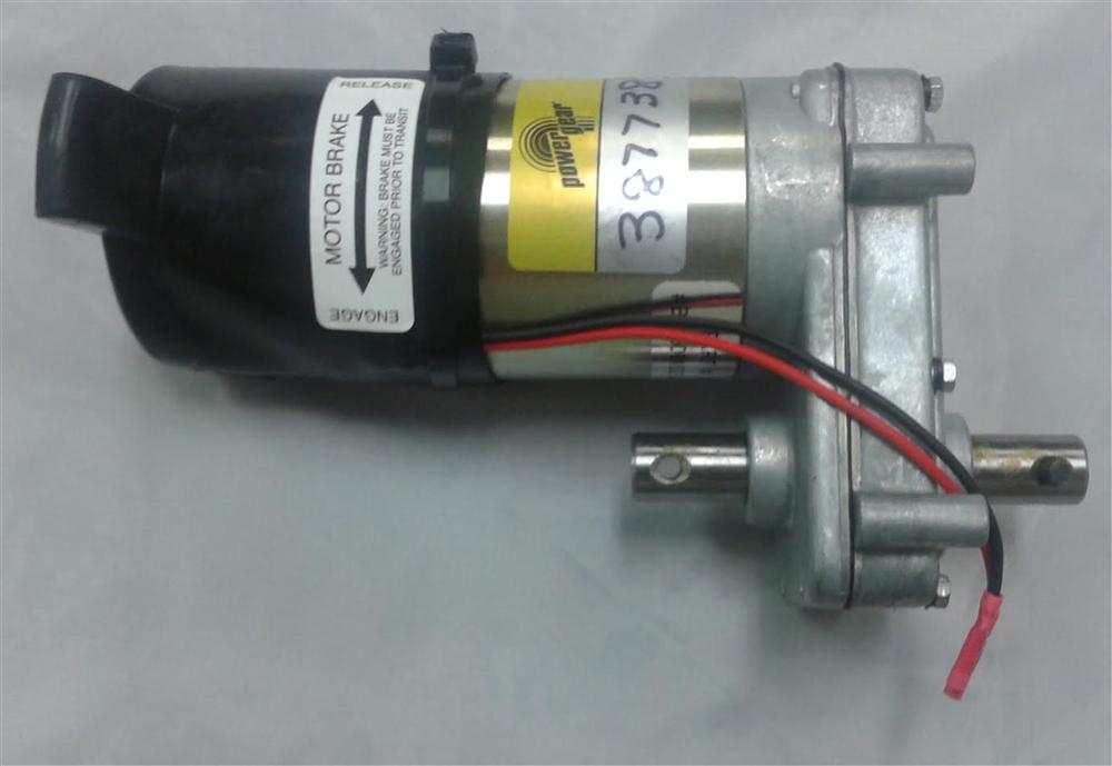 Lippert 387738 Power Gear Slide Out Motor Assembly Dsht W